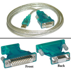 USB to DB9/DB25 Cable